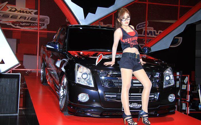 Фотоотчет с автовыставки Bangkok Motorshow 2011 (211 фото)