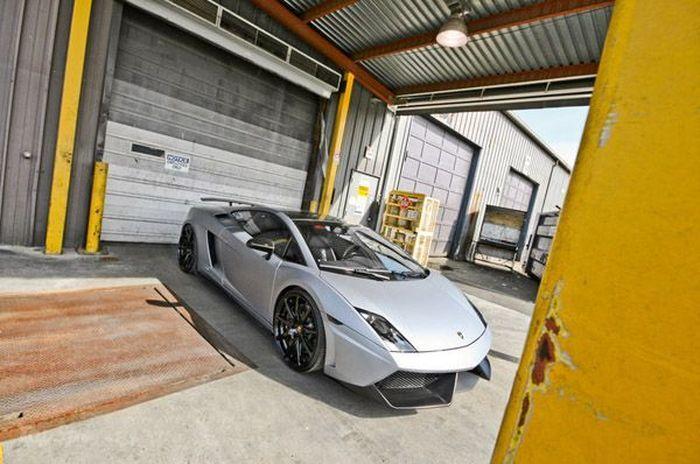 Компания SR Automative Group доработали Lamborghini Gallardo LP560 (6 фото)