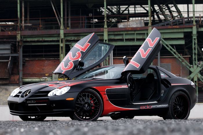 McLaren SLR Black Arrow от Edo Competition (36 фото)