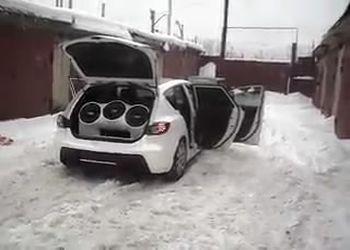 Багажник из сабов