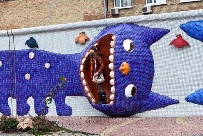 Детский парк в Киеве (26 фото)