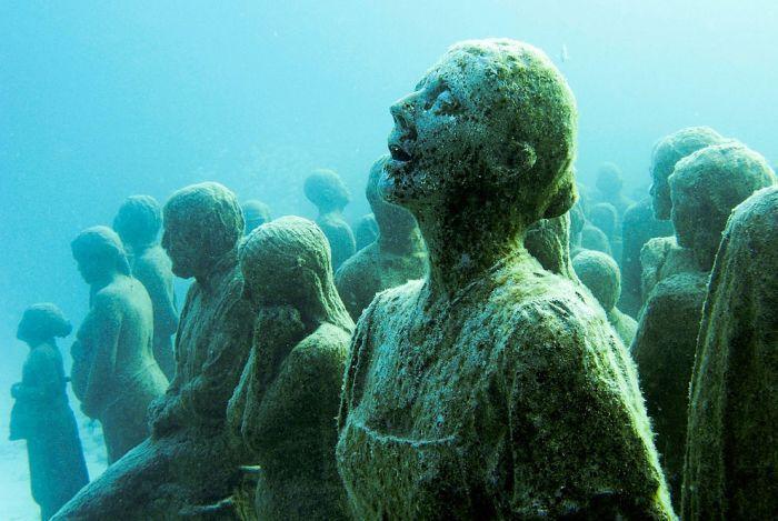 Создание искусственных рифов (27 фото)