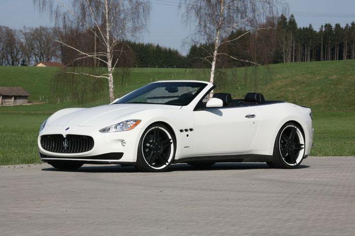 Maserati GranCabrio от ателье Novitec Tridente (32 фото)
