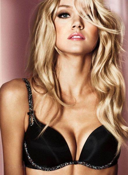 Lindsay Ellingson в фотосете Victoria Secret (4 фото)