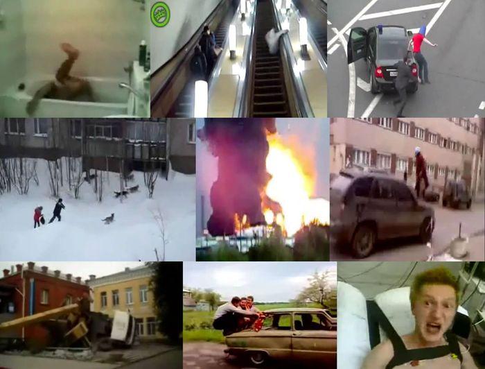 Такое возможно только в России (3 видео)