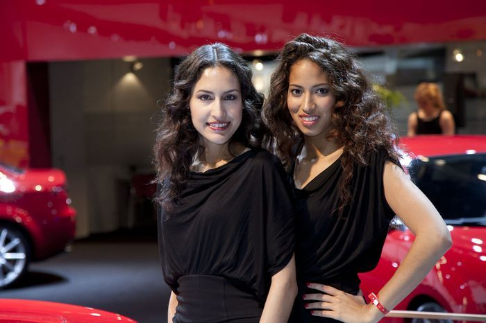Девушки с автосалона AutoRAI 2011 (34 фото)