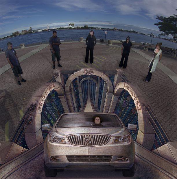 Трехмерные иллюзий Курта Веннера (21 фото)
