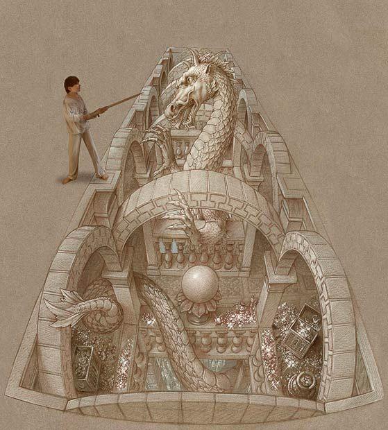 Трехмерное изображение дракона в 2010 году на Тайване.<br> Прослушать