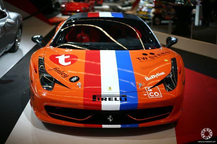 Фотоотчет с автосалона в Амстердаме AutoRAI 2011 (80 фото)