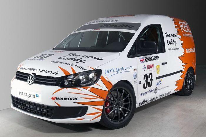 Volkswagen Caddy Racer - гоночный каблук (6 фото)