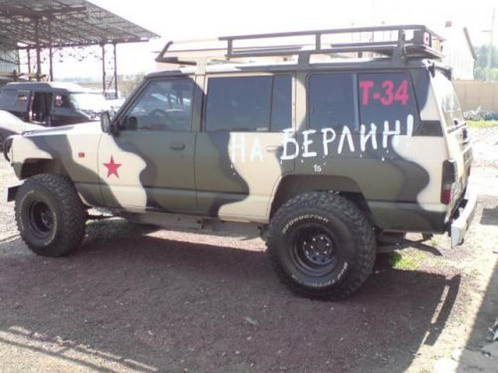 """Российские авто нацелятся """"На Берлин"""" (15 фото)"""