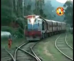 Девушку зацепило поездом