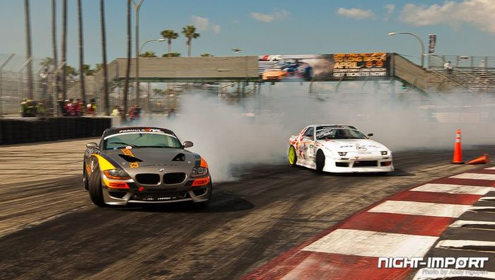 Formula Drift Streets of Long Beach. Часть 2 (126 фото)