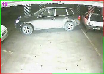 Кайен и Ока на парковке