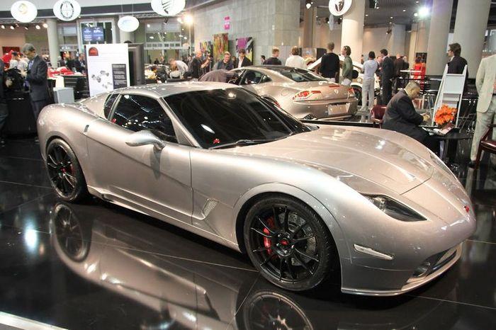 Soleil Anadi новый спорткар на базе Corvette (25 фото)
