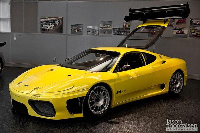 Ferrari с двигателем от Chevrolet и мощностью 1000л/с (4 фото)