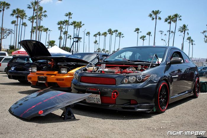 Formula Drift Streets of Long Beach. Часть 3 (140 фото)