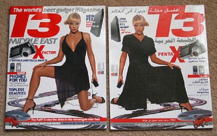 Цензура по арабски (18 фото)