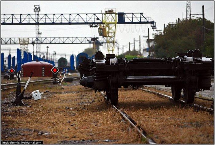 Украинский пограничный городок (25 фото + текст)