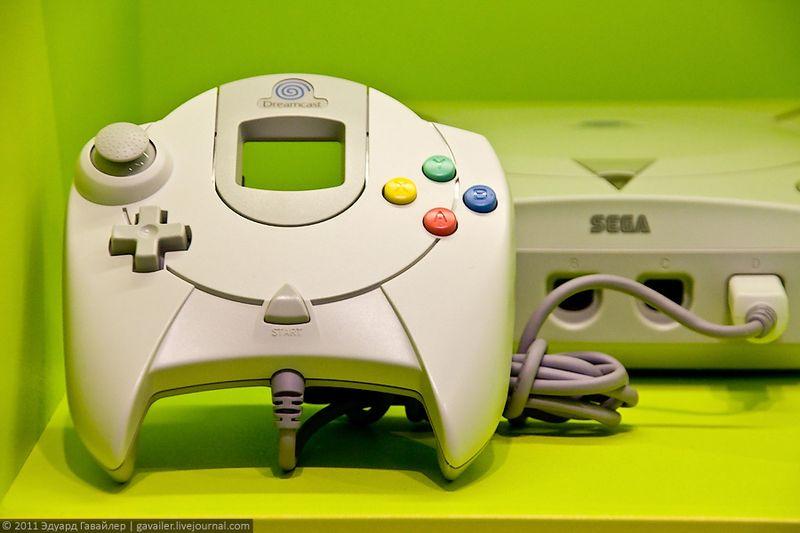 Дримкаст (Dreamcast) — последняя игровая приставка компании SEGA.