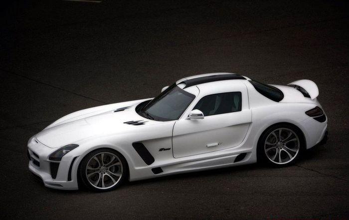 Ателье FAB Design представили Mercedes SLS Gullstream (18 фото)