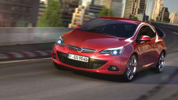 Первые официальные фото трехдверной Opel Astra GTC (2 фото)