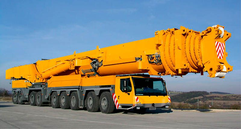 Самый большой в мире кран (20 фото+видео)