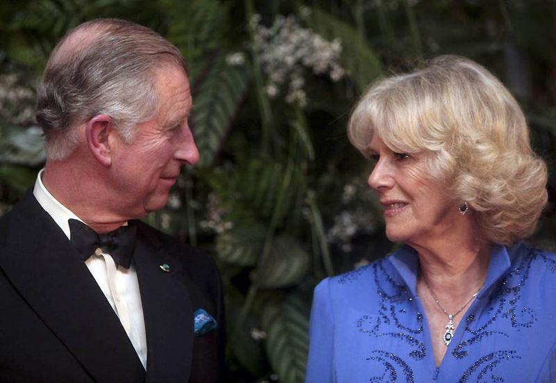 2. Принц Чарльз с супругой Камиллой, Герцогиней Корнуоллской, проведут обед и танцевальный вечер для принца Уильяма и Кейт Миддлтон и их друзей. Принц Чарльз отвечает за еду и вино, а на вечере готовится произнести роскошную речь. О невесте Камилла говорит: «Кейт – милая девочка. Нам очень повезло. С нетерпением жду свадьбу». (Patricia De Melo Moreira / AFP - Getty Images)