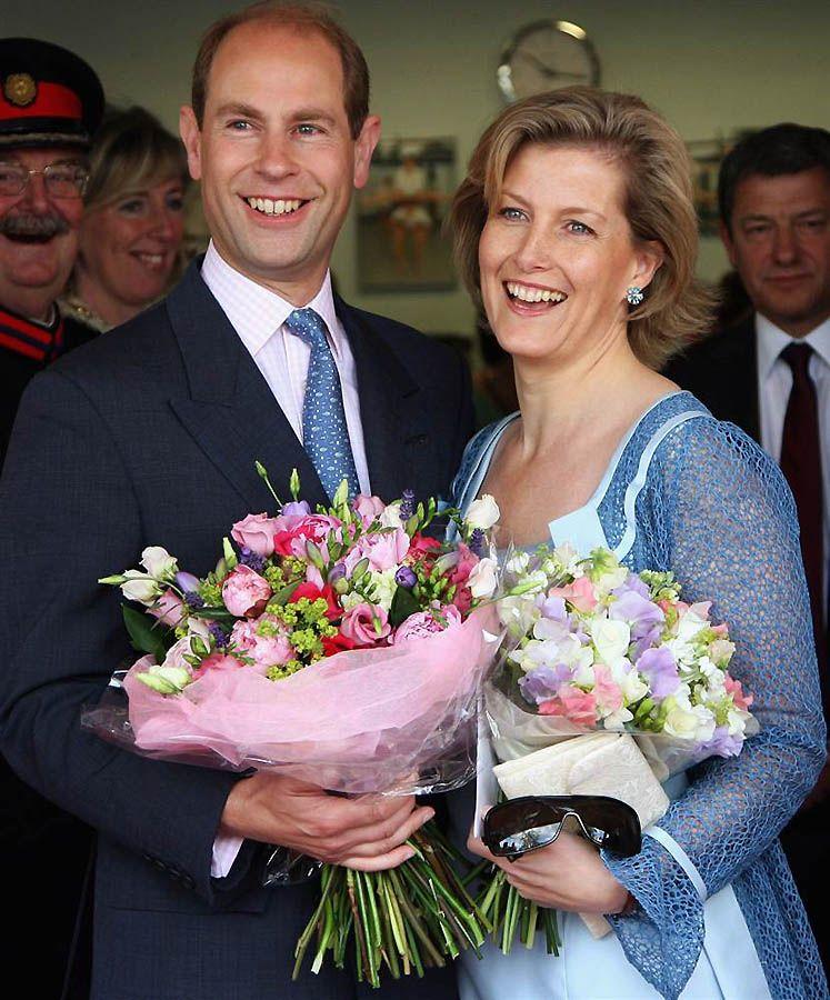 5. Принц Эдвард – четвертый ребенок Королевы. Он женат на Софии Рис-Джонс, графине Уэссекской, бывшего PR-менеджера. (Chris Jackson / Getty Images)