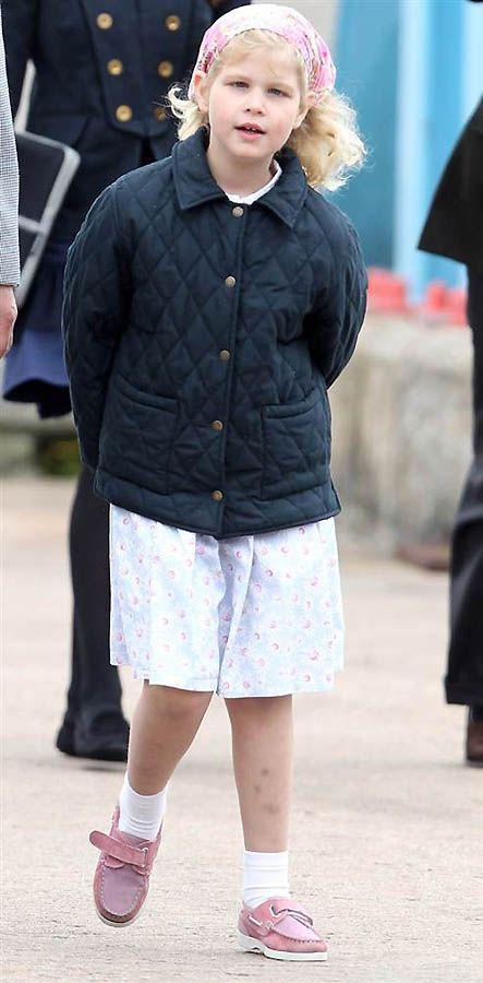 6. Семилетняя принцесса Луиза Уэссекская, известная, как Луиза Виндзор, - старший ребенок принца Эдварда и Софии. (Chris Jackson / Getty Images)