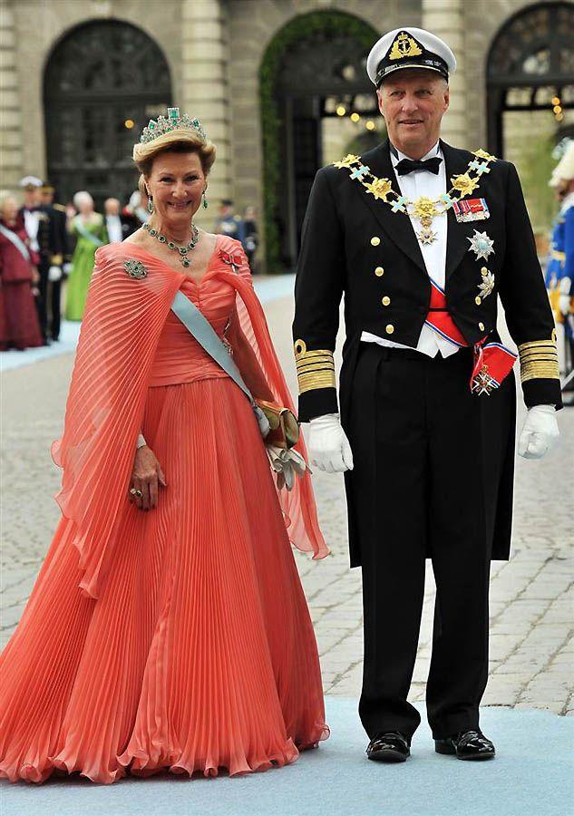 21. Королева Соня и Король Гаральд Пятый из Норвегии. (Pascal Le Segretain / Getty Images)