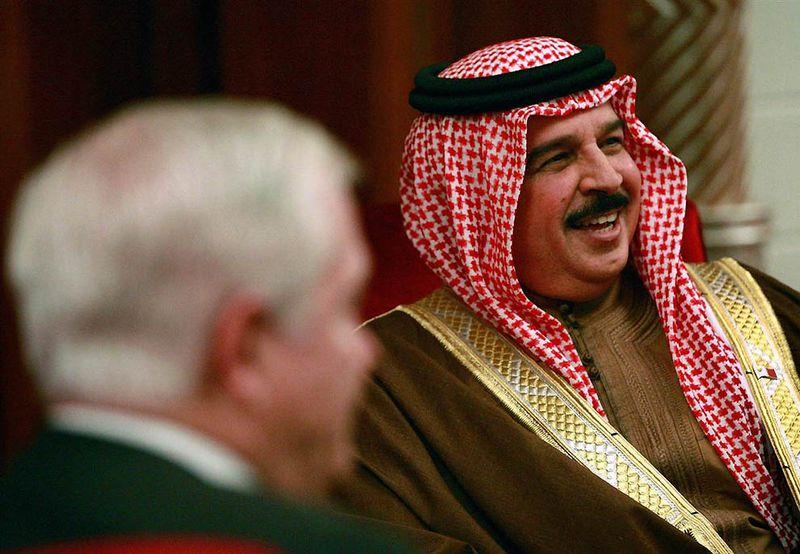 24. Хамад бин Иса Аль Кхалифа – Король Бахрейна. (Scott Olson / Getty Images)