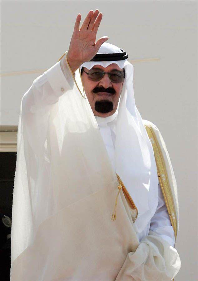 25. Абдулла бин Абдул Азиз аль-Сауд – Король Саудовской Аравии. (Hassan Ammar / AFP - Getty Images)