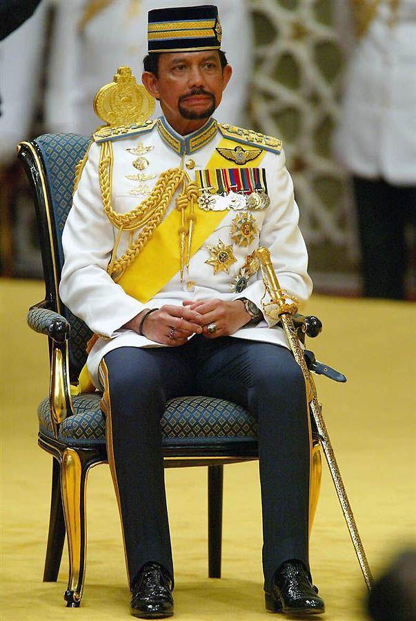 26. Бандар Сери Бегаван – Султан Брунея. (Christopher Furlong / Getty Images)