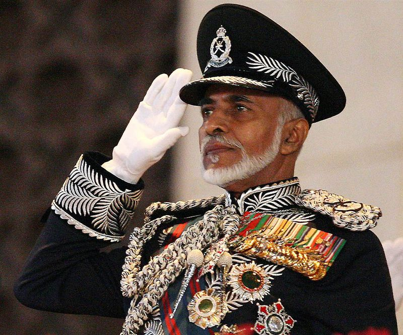27. Султан Кабоос бин Саид – Султан Омана. (Mohammed Mahjoub / AFP - Getty Images)