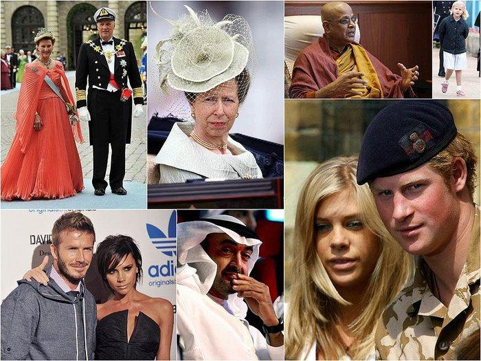 Приглашенные на королевскую свадьбу (33 фото + текст)
