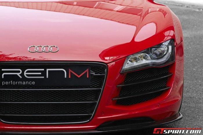 Audi R8 Spyder от ателье RENM (8 фото+видео)