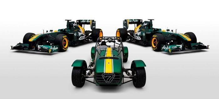 Компания Lotus выкупила акции Caterham Cars (3 фото+видео)