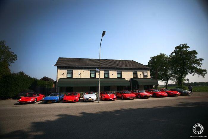 Слет владельцев Ferrari (31 фото)