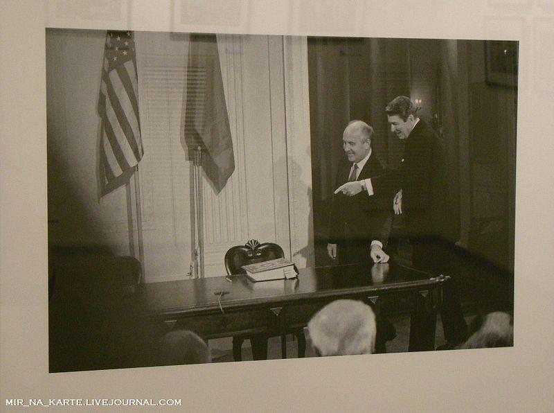 29. Михаил Горбачев и Рональд Рейган, Вашингтон, 1987 год