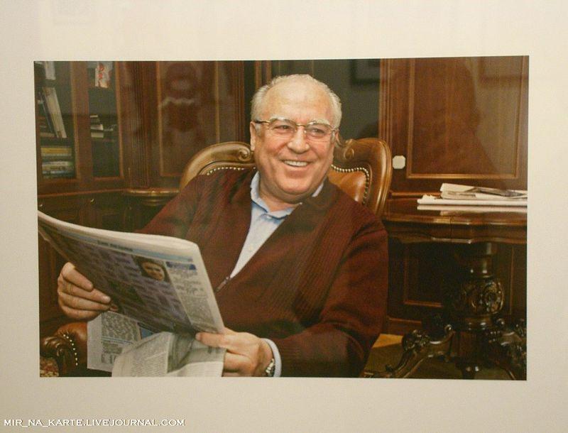 37. Виктор Черномырдин у себя дома, 1999 год
