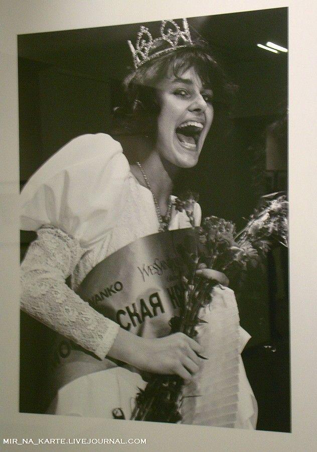 """64. """"Московская красавица"""" Маша Калинина, 1988 год"""