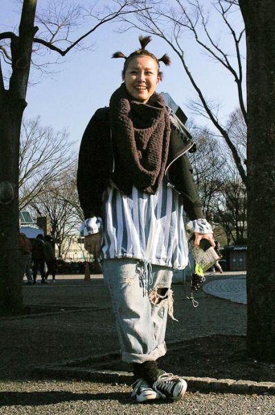 Японская мода - стильная и беспощадная (47 фото)