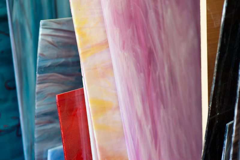 Мозаика: живопись стеклом (29 фото)