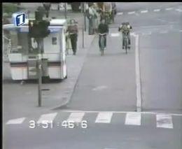 Жесткое падение с велосипеда
