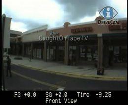 Взрыв супермаркета сняли на камеру