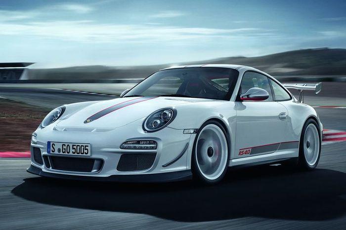 Самый мощный трековый авто от Porsche - 911 GT3 RS 4.0 (16 фото+видео)