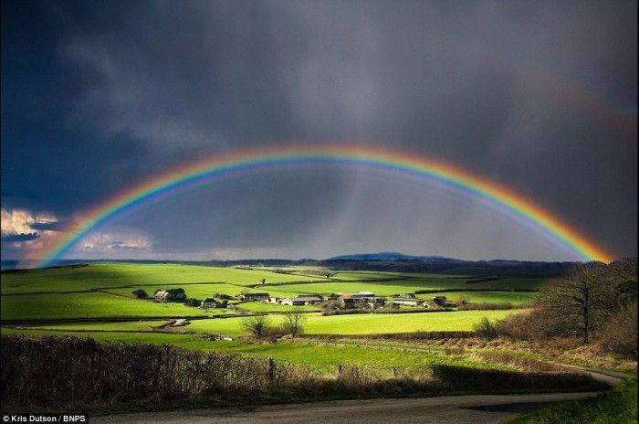Удивительные фотографии, сделанные перед дождем (14 Фото)