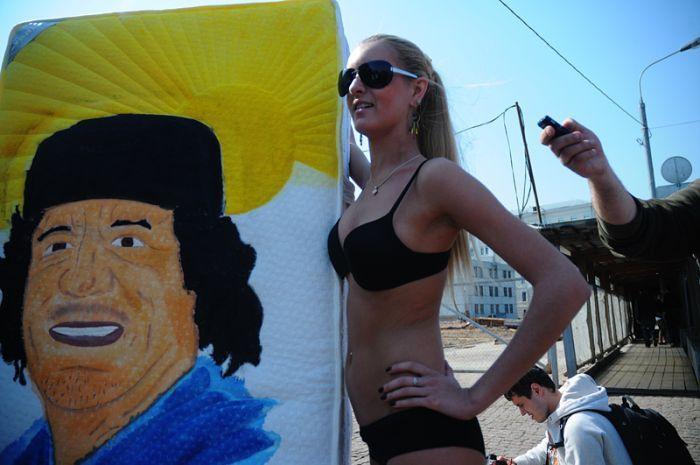 В России появилось свое движение аля FEMEN (4 фото)