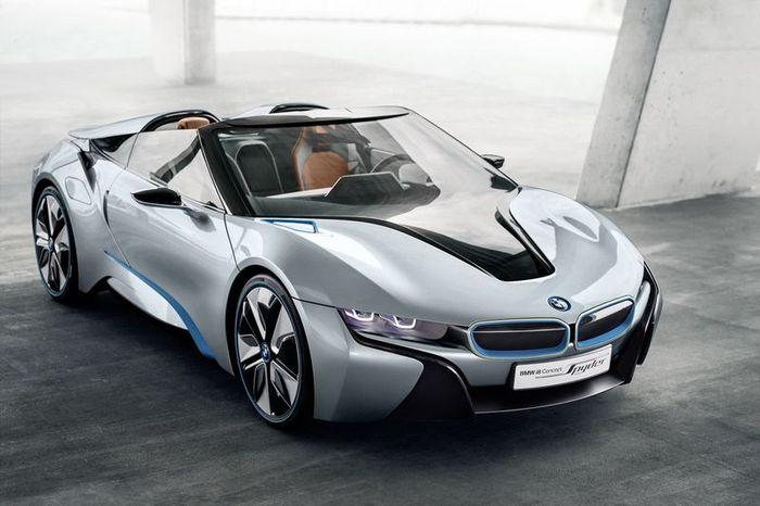Компания BMW представила открытую версию концепта i8 (47 фото)